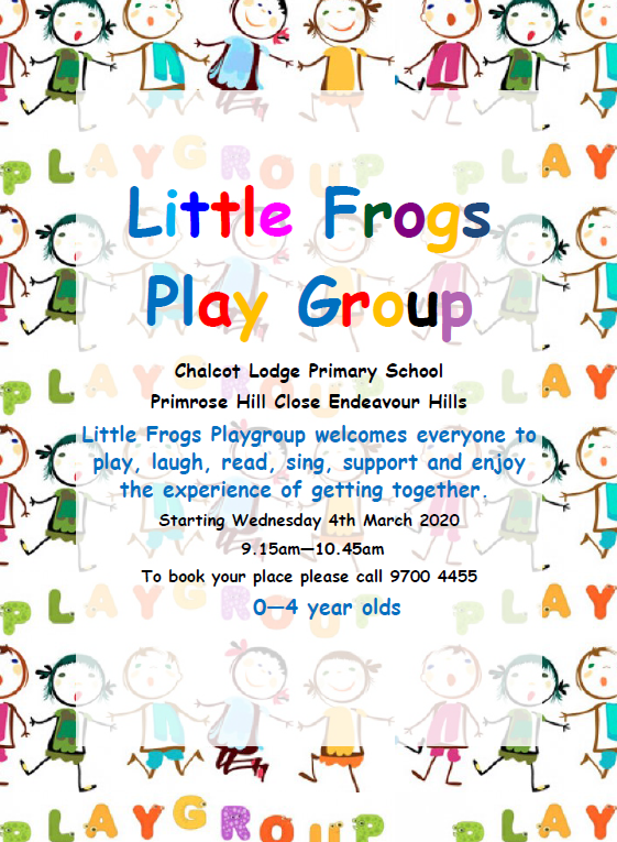 playgroup flyer 2020